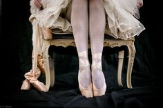 Salvato Collection Vintage Clothing is On pointe w vintage petticoats on ballerina. Editorial fashion fine art., Antique Dance