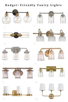 Budget-Friendly Lighting for the Bathroom | The DIY Playbook