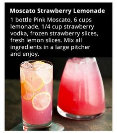 Mascoto Strawberry Lemonade