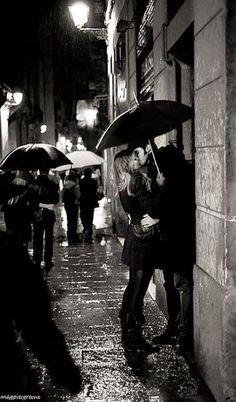 Captain Swan --Kiss in the Rain by magpieigraine.deviantart.com on @DeviantArt
