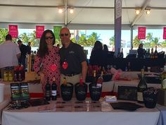 Trump winery team at south beach wine and food fest