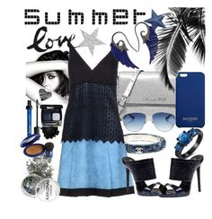 """Summer time"" by mariahedanne ❤ liked on Polyvore featuring Chanel, Michael Kors, Christian Dior, Pinko, Giuseppe Zanotti, Balmain, Elizabeth Arden and Noor Fares"
