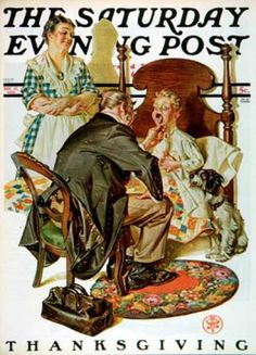 - 1930-11-22: Sore Throat (J.C. Leyendecker)
