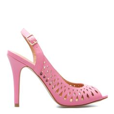 cute cut out peep toes