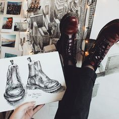 #My1460s shared by @maria_manitskaya Celebrating 55 Years of the Dr. Martens 1460 Boot.