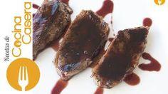 Ternera marinada en salsa de vino tinto