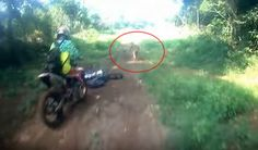 Motor trail group surprised by mysterious human-like being in forest of Bandah Aceh, Indonesie |UFO Sightings Hotspot