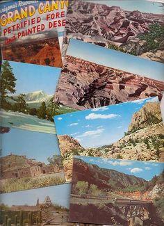 Old Arizona postcards