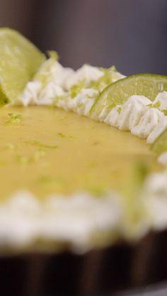 Great Desserts, Dessert Recipes, Masterchef, Tasty Videos, Deli Food, Chocolates, Taste Made, Easy Pie, Key Lime Pie