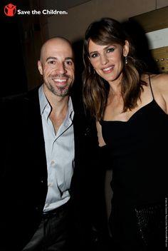 Chris Daughtry and Jennifer Garner. On October 1, 2013, @ Calvin Klein presented its first-ever @ Save the Children #CK4PreK Gala. http://www.savethechildren.org/site/c.8rKLIXMGIpI4E/b.8193011/?msource=wespickg1013 #PreK4All