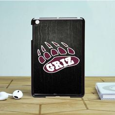 Montana Griz Logo On Texture iPad Mini 2 Case Dewantary