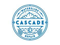 Cascade Waterslide Repair Badge