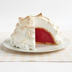 Baked Alaska Recipe - Cook's Country aug06
