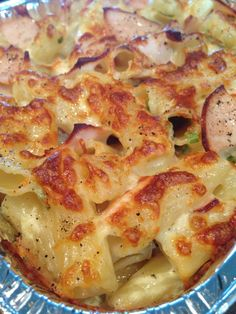 Baked Chicken Macaroni Cheese. Bon Appetit