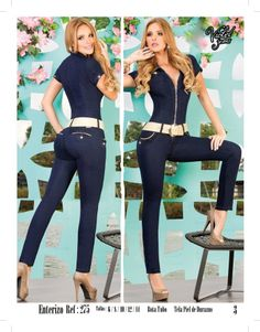 Quality Made Hot Best selling Brand Jumpsuits Violet, Stretchy butlifter... #jeanjumpsuit #romper #jumpsuits #hotjumpsuits #hotjeans #enterizos #bragas #colombianjeans #trending #fashion #picoftheday #summerfashion #musthave #2014 #florkantuta.com
