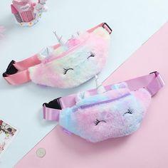 Buy Cute Unicorn Female Waist Belt Bag Phone Pouch Chest Bag at eSellect! Great selections of high-quality products! Unicorn Kids, Cute Unicorn, Cartoon Unicorn, Cartoon Ears, Unicorn Room Decor, Cute Crossbody Bags, Girls Winter Fashion, Unicorn Fashion, Fantasias Halloween