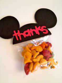 Mickey Mouse Ears Birthday Party Favors by PicturePerfectParty,