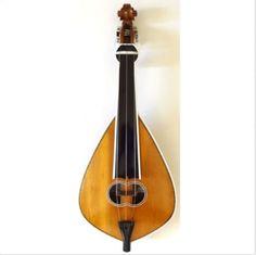 Vintage-Decor-Handmade-Old-Greek-Music-Instrument-Made-by-Hard-Wood-Artist-Lyra
