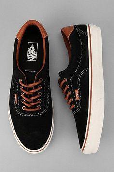 Vans Era 59 Suede Sneaker , I like their simplicity n sublety Mens Vans Shoes, Men's Shoes, Shoe Boots, Dress Shoes, Vans Men, Men's Vans, Louboutin Shoes, Boat Shoes, Sneakers Mode