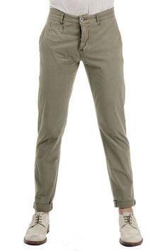 INDIVIDUAL 100% cotton trousers (art. PAU73689 VERDE)