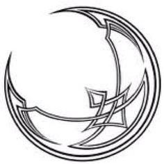 Celtic Crescent Moon   tattoo   Pinterest