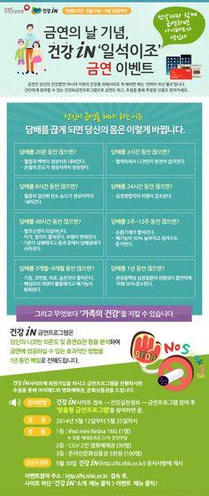 [국민건강보험 건강iN] 금연의 날 기념 건강iN 일석이조 금연 이벤트! 건강iN 금연 프로그램에 참여해주시면, 추첨을 통해 경품을 드립니다. ☞http://goo.gl/PG1LDt