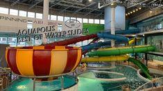 Aquapolis Best Of Waterslides 360° VR POV Onride Anaconda, Water Slides, Vr, Indoor, Interior, Green Anaconda