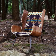 Gus* Modern x Pendleton Woolen Mills Collaborate on Chairs