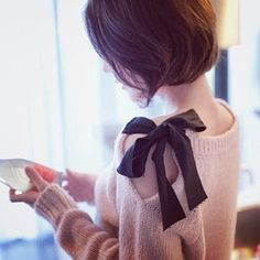 Love the position of the ribbon.