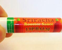 Tastes Like Burning: Sriracha Lip Balm Brian would like this for sure