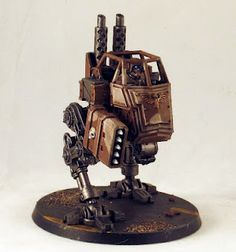 Step-by-step Imperial Guard Vehicle (Sentinel)
