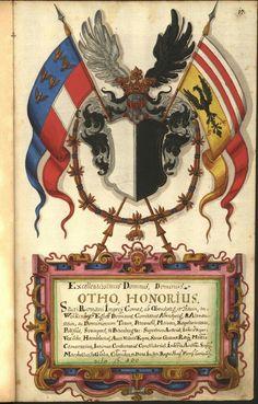 Wappen der Familie - der Grafen von Wartenberg / Coat of Arms of The Family of the Counts von Wartenberg / Armas de los Condes von Wartenberg