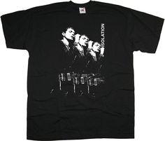 Isolation-Joy Division-Ian Curtis Tshirt
