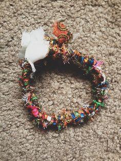 scrap fabric rope - make bracelets, necklaces, headbands