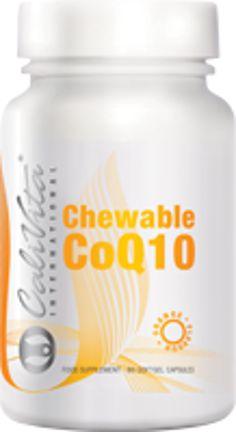 Weichgelkapseln, Koenzym mit Orangengeschmack Chewable CoQ10 sorgt für das notwendige Koenzym Q10 mit leckerem Orangenaroma. Es kann ohne Flüssigkeit konsumiert werden, so dass man es während eines Spaziergangs oder einer Autofahrt  mitnehmen kann. Die Weichgelkapsel zerfällt im Magen, sodass der Inhalt schneller aufgenommen werden kann. Q10, Health, Salud, Health Care, Healthy