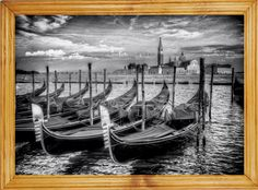 Obraz W RAMIE 50x70cm Romantyczna Podróż WENECJA (5677398077) - Allegro.pl - Więcej niż aukcje.