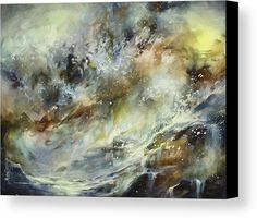 Abstract Canvas Print featuring the painting ' Endless ' by Michael Lang