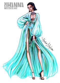 Rihanna - Needed Me - by Armand Mehidri