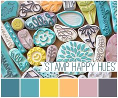 Stamp happy colour inspiration