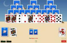 #Tri #Peaks #Rush Solitaire game http://www.rubl.com/games/tri-peaks/ #tripeaks