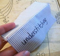 How To Understitch
