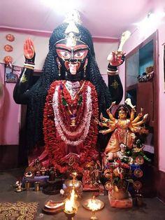 Durga Kali, Kali Hindu, Kali Mata, Mahakal Shiva, Shiva Art, Hindu Art, Lord Shiva, Indian Goddess Kali, Durga Goddess