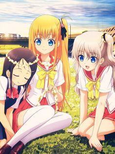 Nao, Yusa et Ayumi