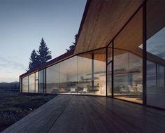 #architecture : Saunders Architecture unveils five houses for Carraig Ridge development in Canada
