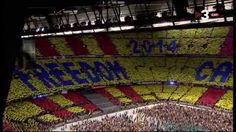 Concert per la Llibertat - Els Segadors - Freedom for Catalonia Camp Nou 29/06/2013. Espectacular! - YouTube