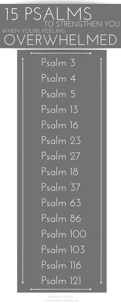 15 Psalms to Strengthen You When You're Feeling Overwhelmed – Simply Dunn 15 Psalms to Strengthen You When You're Feeling Overwhelmed Feeling Overwhelmed Quotes, Overwhelmed By Life, Encouraging Bible Verses, Scriptures, Psalms Verses, Scripture Verses, Psalm 13, Christian Encouragement, Bible Encouragement