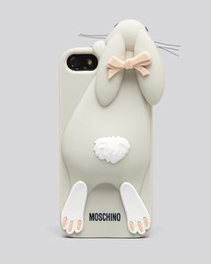 Moschino iPhone 5/5s Case - Bunny | Bloomingdale's