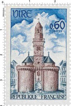 Timbre : PORTE HORLOGE DE VIRE | 1967