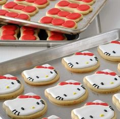 Hello Kitty sugar cookies