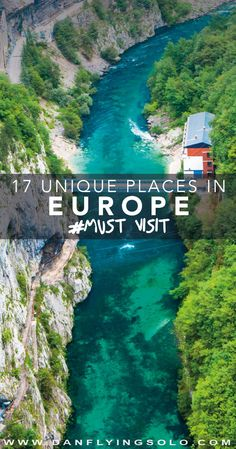 Pluzine, Montenegro - One of the 17 best hidden gems in Europe to visit in 2017